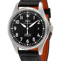IWC IW327001 Pilots Mark XVIII Automatic in Steel - On Black...