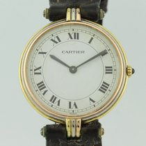 Cartier Vendome Quartz 18K Gold Tricolor Lady