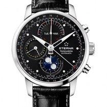 Eterna Tangaroa Moonphase Chronograph 42mm triple calendar...