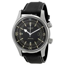 Longines Heritage Automatic Black Dial Mens Watch L36744500