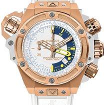 Hublot King Power Oceanographic Chronograph 18K Solid Rose Gold