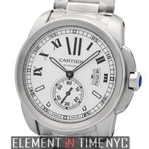 Cartier Calibre Collection Calibre Stainless Steel Silver 42mm...