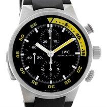 IWC Aquatimer Split Minute Chronograph Titanium Watch Iw372304...
