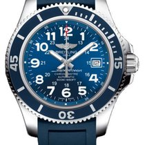 Breitling Men's A17365D1/C915/138S Superocean II 42 Watch