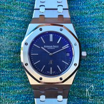 Audemars Piguet Royal Oak Extra-Thin in Steel with Blue Dial...