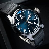 IWC [NEW] Big Pilot Top Gun Automatic Black Dial Mens IW502001