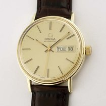Omega 14K Gold Automatic Day/Date