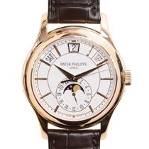 Patek Philippe New  Complications 18k Rose Gold White Automati...