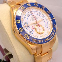 Rolex Yacht Master II 116688 18k Yellow Gold Oyster 44mm Box...