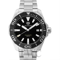 TAG Heuer Aquaracer 300M Black Steel 41mm - WAY111A.BA0928