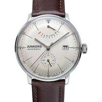 Junkers Bauhaus Auto Watch Power Reserve Exhibition Back 40mm...
