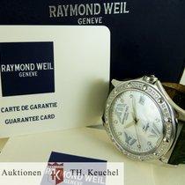 Raymond Weil Tango 36 Brillanten Perlmutt Full Set