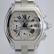 Cartier Roadster Chrono XL/Stainless Steel/ REF: W62019X6
