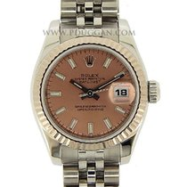 Rolex stainless steel ladies Datejust