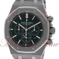 Audemars Piguet Royal Oak Chronograph, Black Dial - Stainless...