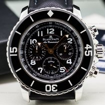 Blancpain 5885F-1130-52 Fifty Fathoms Chronograph SS/Kevlar...