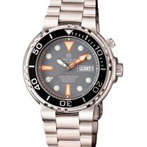 Deep Blue Sun Diver III 1000m Wr Auto Day/date Watch Black...