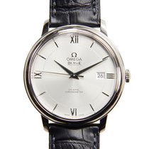 Omega De Ville Stainless Steel Silver Automatic 424.13.40.20.0...