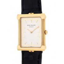 Patek Philippe 3775 Yellow Gold Leather