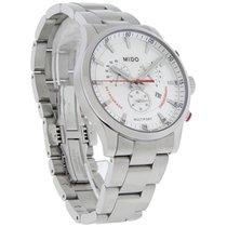 Mido Multifort Retrograde Mens Swiss Chronograph Quartz Watch...