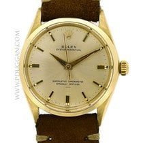 Rolex vintage 1950's14k yellow gold Oyster Perpetual