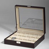 Rothenschild Uhren Sammelkiste RS-1123-18DBR fuer 18 Uhren brown