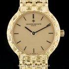 Vacheron Constantin 18k Y/G Champagne Dial Vintage Wristwatch...