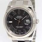 Rolex Datejust II Stainless Steel Grey Dial Mens Watch 116334...