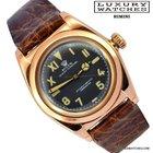 Rolex Ovetto BubbleBack 3131 California Dial Rose Gold 1945's