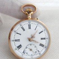 Remontoir 14ct golden vintage engagement / marriage serviced...