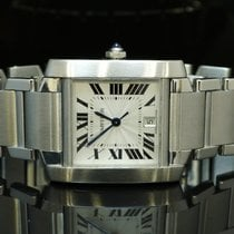 Cartier Large Tank Francaise Automatic, Just Serviced by CARTIER