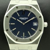 Audemars Piguet Royal Oak Extra-Thin, ref.15202ST Blue Dial,...