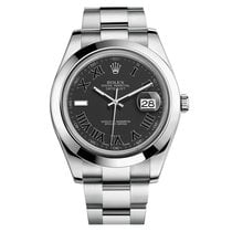 Rolex Datejust II Mens Stainless Steel Automatic Oyster 41mm...
