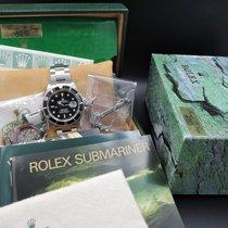 Rolex SUBMARINER 16610 Black Dial Black Bezel Full Set