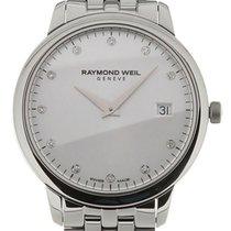 Raymond Weil Toccata 34 Quartz Steel Silver Dial