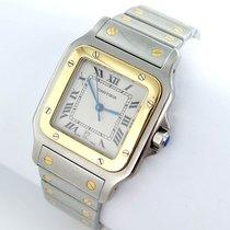 Cartier Santos Galbee Herren Uhr Stahl/gold Datum Ref. 187901
