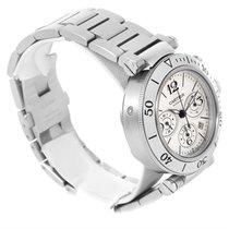 Cartier Pasha Seatimer Chronograph Mens Watch W31089m7 Unworn