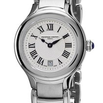 Frederique Constant Delight Round Stainless Steel Womens Watch...