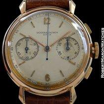 Vacheron Constantin 18k Rose Gold Vintage Chronograph Ref 4178