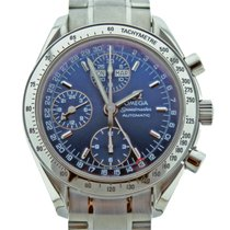 Omega Speedmaster Day-Date with Blue Dial  Ref 3523.80.00