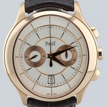 Piaget Gouverneur Flyback Chronograph, 18K Rose Gold, 43mm...