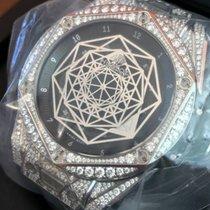 Hublot Big Bang Sang Bleu Titanium Pavè 415.NX.1112.VR.1704.MXM17