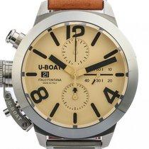 U-Boat Italo Fontana Classico 45 Tungsteno Stahl Chronograph...