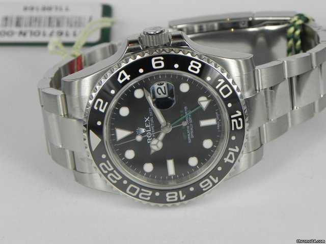 Rolex GMT MASTER 2 GHIERA CERAMICA