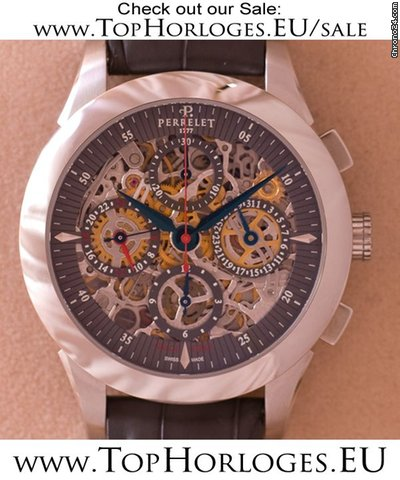 Perrelet Skeleton Chrono  Dual Time [ON HOLD]