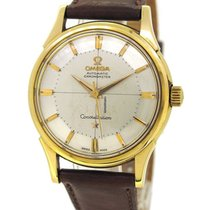 Omega Constellation 18K Gold Rare Pie-pan Dial