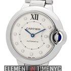 Cartier Ballon Bleu Collection Ballon Bleu 33mm Steel Silver...