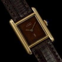 Cartier Vintage Ladies Tank Watch - Gold Vermeil, 18K Gold o