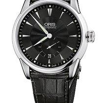 Oris Artelier Small Second, Date Black Dial