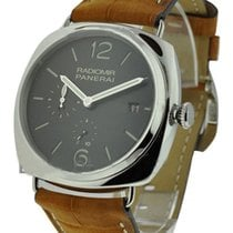 Panerai PAM 00323 PAM 323 - Radiomir 47mm GMT - Steel on Strap...